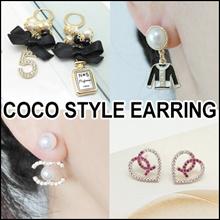 [LAURENCO] SEP. New update!! 💎🌺Luxury elegant style Earring_Camellia / coco new style Earrings