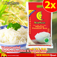 BEST SELLER! New Moon Thai Hom Mali Rice (2 x 5kg)