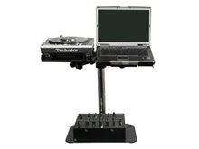 (Odyssey) Odyssey LUNISPDB L-Evation Universal Laptop / Gear And Pioneer Cdj-100 Plate Stand With...