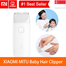 💖READY STOCK💖[XIAOMI Mijia MITU Baby Hair Clipper] IPX7 Waterproof Electric Hair Clipper Trimmer S