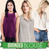 New Collection Branded Women Sleeveless Blouse - Long Sleeve Blouse - 13 Style - Good Quality