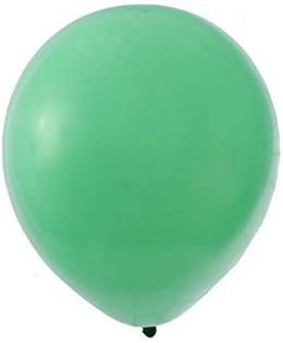 [Home] Partyforte Standard Balloon, 10, 20 Count, Green