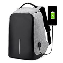 Anti-theft Laptop Backpack With USB Charge Port Light weight Outdoor Waterproof
