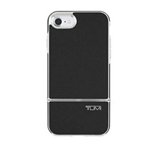 TUMI 2-PC Slider Case for iPhone 7 - Black Leather - intl