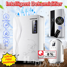 ⚡BIG PROMO⚡ 2.2L Smart Dehumidifier/Air Purifier Intelligent Humidistat Touch Panel Remote Control