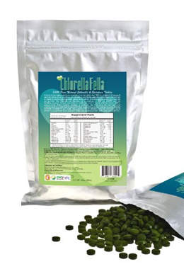 Spirulina/Chlorella Mix Tablets: 100% Pure Natural Taiwan Premier Quality Spirulina and Chlorella Mi