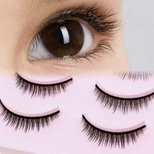 23198c68c66 Quick View Window OpenWishAdd to Cart. rate:0. discount 5 Pairs New 3D Mink  Popular Natural Short Cross False Eyelashes Daily eye lashes ...