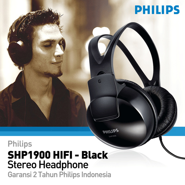 Philips SHP1900 HIFI Stereo Headphone Deals for only Rp179.000 instead of Rp179.000
