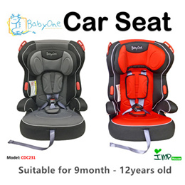 ★IMP HOUSE★[Baby Safety] Baby One Highback Booster Car Seat CDC231 Local Warrenty