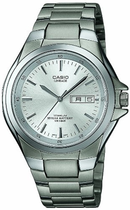 CASIO カシオ スタンダード ウェーブセプター リニエージ チタンアナログモデル LIN-171J-7AJF 腕時計 メンズ