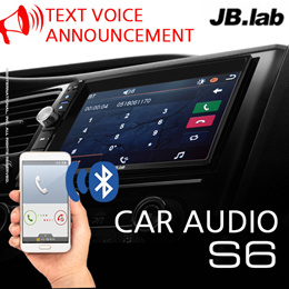 [JB.LAB] Bluetooth car audio / S6 / Full HD video playback / Text voice announcement