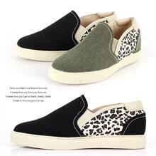 Side Leopard Slip-On Sneakers 2color # s561