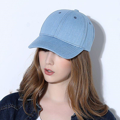 Sunbonnet Bone Brim Women Casual Denim Lady Fashion Outdoor Cool Women Cap  Hat Denim Sunhat Lady ce6282955308