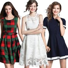 Promotions  High quality dress elegant dress/European British style/Office dresses/Long