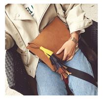 FRINGED CLUTCH BAG [TAS WANITA / WOMEN BAG / CLUTCH BAG]