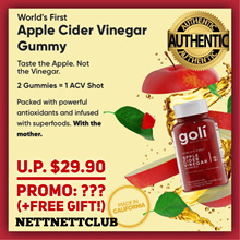 [OFFICIAL] Goli Nutrition Apple Cider Vinegar Gummy / FREE Qxpress + FREE GIFT