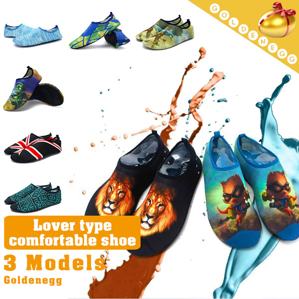 ?Unisex:35~44 Sizes?New Advanced Design Ver.?Breathable Sport Barefoot Skin Shoes with Zippered Bag?Using Made in Korea High Quality Material/ Swimming/ Aqua Shoes/ Outdoor/ Yoga/ Ultra light Deals for only S$40 instead of S$0