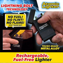 Atomic Lighter  The Rechargeable Electric Lighter That's Windproof USB Chargeable