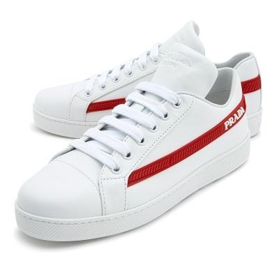 7255fb167fe  프라다  Logo 1E266L 3K1L F0970 Woman Sneakers