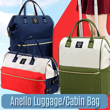 RESTOCKED!BE!Anello Travel Luggage 2roda~4roda|travel Bag|MultifunctionBag*Cheapest Price GUARANTEE!