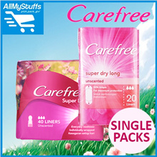 【Carefree】Assorted Panty Liners ★Breathable/Super Dry/Barely★ SINGLE PACKS