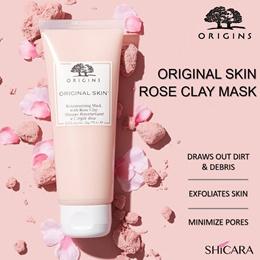 Origins Original Skin Retexturizing Mask with Rose Clay. Reduce pores and glow big! Rose Clay Mask