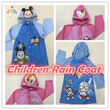 Kids Raincoat Children Raincoat  Animal Raincoat Coat Superhero Cartoon Characters Raincoat