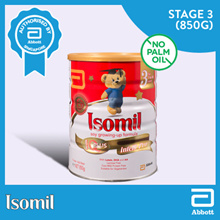 ISOMIL 850G*Stage 3*For children w cow milk protein sensitivity lactose intolerance  vegetarians