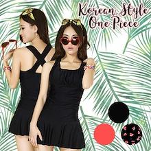 Cute Korean Style one Piece Women/Ladies/Swimwear/Swimming suit/Swimming Wear
