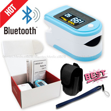 CMS50D-BT Pulse Oximeter Bluetooth Spo2 Monitor Pulse Rate Heart Rate Monitor Finger Probe