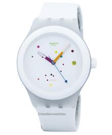 [CreationWatches] Swatch Originals Sistem White Automatic SUTW400 Unisex Watch