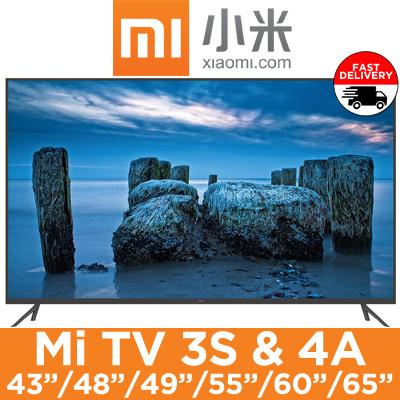 XiaomiXiaomi Mi TV 3S/4A 4K Smart TV / 43|48|49|55|60|65 inch Available /  HD / Export Set