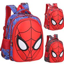 【TEEMI】 3D Spiderman Molded Face Preschool Primary School Bag Boys Kids Children Cartoon Backpack
