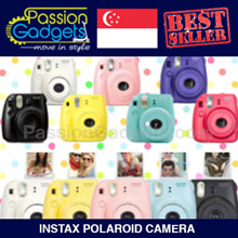 [Free Gifts]♥CHEAPEST♥Instax Mini 9 mini8 mini25 mini50s mini7s Instax Polaroid Camera mini 25 50