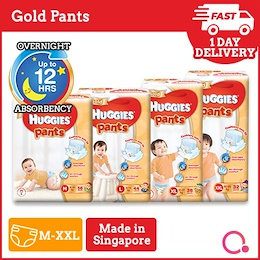 [Kimberly Clark] New Launch! Huggies Gold Pullup Pants