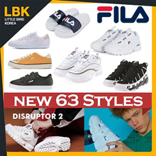 [FILA] Best Fila Korea Shoes/authentic /Disruptor 2/SPAGHETTI/RAY/SLIDER/Velcro shoes /Classic