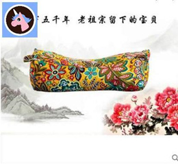Pure buckwheat pillow tiger head tiger Pillow cervical pillow buckwheat pillow coarse cloth pillowca