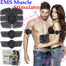 EMS Wireless Muscle Stimulator Smart Fitness Slimming Training Massage Weight Loss Trainer Exercise