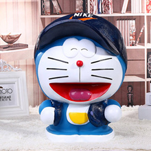 Hardaway children s piggy bank creative super sized Doraemon coin piggy bank savings birthday child