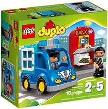 LEGO Duplo Town 10809 Police Patrol Set New In Box #10809
