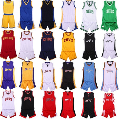 the best attitude d9a86 404e9 Bulls Lakers Cavaliers Celtics Heat basketball uniforms Jersey uniform suit