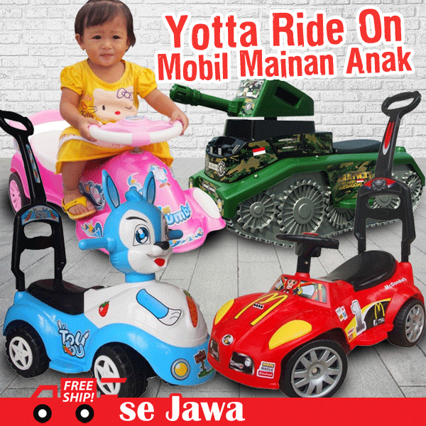 Ocean Toy FREE ONGKIR Yotta Ride On Mobil Mainan Anak Deals for only Rp399.900 instead of Rp399.900