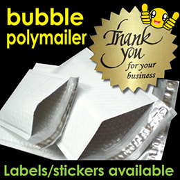 ★Loose BUBBLE Poly Mailers★ Metallic foil Mailers/ Poly Colored Mailer/ Plastic Mailing bag/ Packagi
