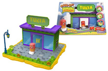 [MOSHI MONSTERS, BOBBLE BOTS] BCC97Q454 - Yukea Store Playset w/ Plinky [#106] moshling: Moshi Monst