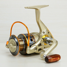 New Design Worm Shaft Structure Fishing Reel With 13+1BB Series Spinning Fishing Reel With Carbon