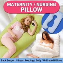 Nursing Pillow / Maternity * Back Support Pillow / Breast Feeding / Body Pillows / Ushaped Pillow
