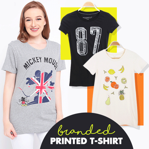 [Cargo ID] Branded Tee Woman Deals for only Rp35.000 instead of Rp35.000