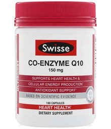 [Qprime]Swisse Co-Enzyme Q10 150 mg 180 Capsules