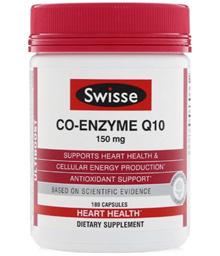 [Qprime]Swisse Co-Enzyme Q10 150 mg 180 Capsules