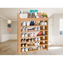 Multifunction Modern Changing Stools Wooden Shoes Rack Storage Cabinet Shelf Organizer 6 Tiers With